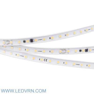 Лента ARL-50000PC-220V White6000 (5060, 54 LED/m, IP65)