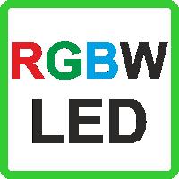 Ленты цветные RGB+W